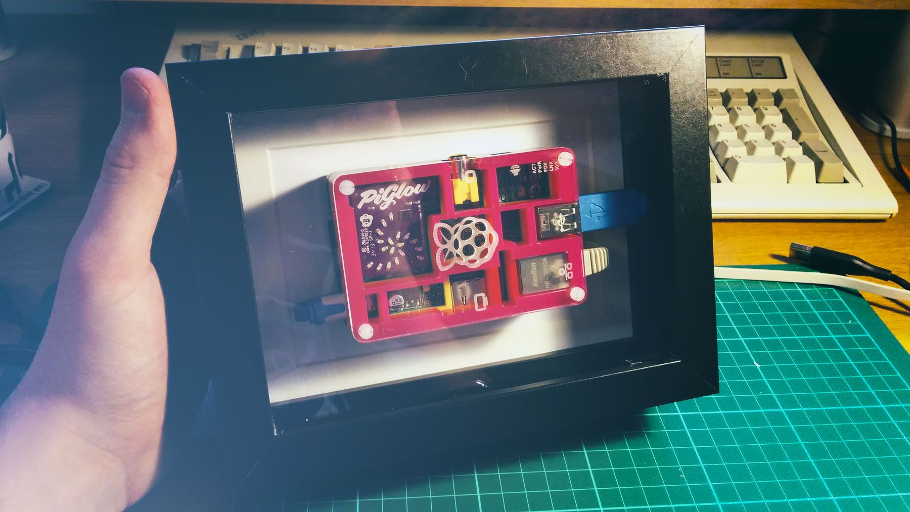 Framing the Raspberry Pi